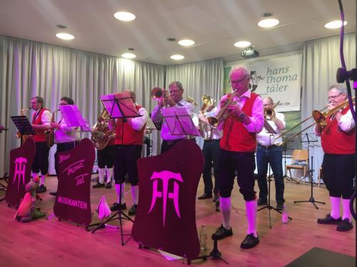 Pfingstkonzert & 60. Jahre Hans Thoma Tal Musikanten