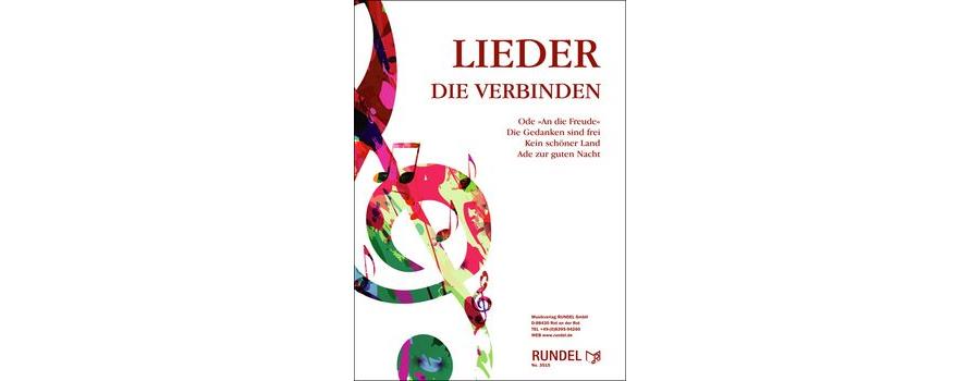 Lieder, die verbinden - 4. Stimme in C Bass-Schlüssel (hoch) Posaune